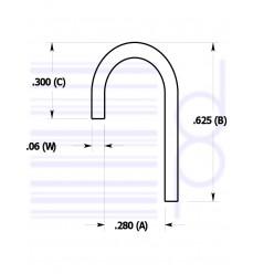 1/4 IN. Hanger Clip (6.350 mm)