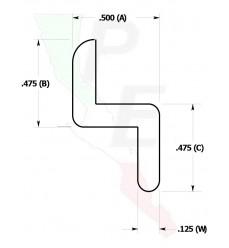 """Barra Tipo """"Z"""" De 1/2"""" (12.700 mm)"""