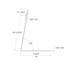 4 IN. Deli Runner (101.60 mm)